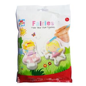 Kit De Yeso Para Bebes.Detalles De Molde Y Pintura Fairy Yeso De Paris Kit Fairies Manualidades Para Ninos