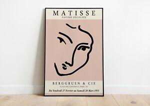 Henri Matisse Art Exhibition Poster | Matisse Art Print | Wall Decor