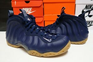 Nike-Air-Foamposite-One-Basketball-Shoes-Midnight-Navy-314996-405-Men-039-s-Size-9