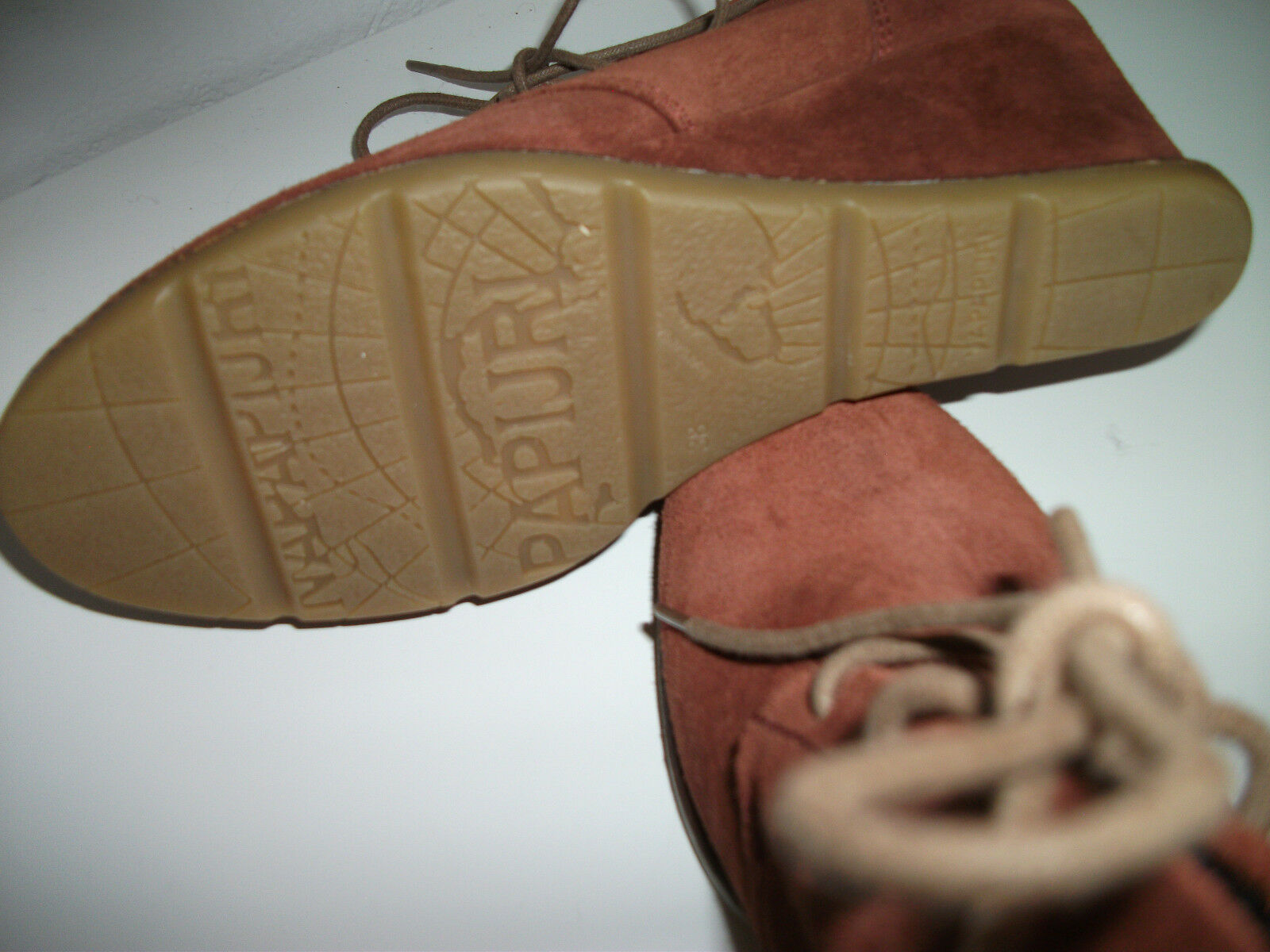 Orig. Keilabsatz NAPAPIJRI - sportliche Echtleder-Sneaker mit Keilabsatz Orig. Gr. 38,5  neuw. ed1095