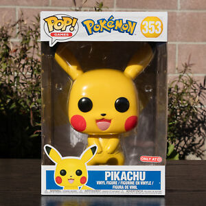 no shipping funko pop pokemon 10 inch pikachu target exclusive non