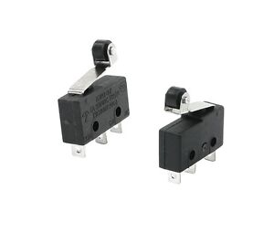 5PCS Tact Switch KW11-3Z Microswitch Round Handle 3PIN  5A 250V