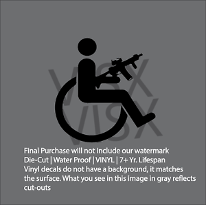 3/% We are Everywhere Sticker Vinyl Decal Gun Rights NRA Firearm Pick Size V387