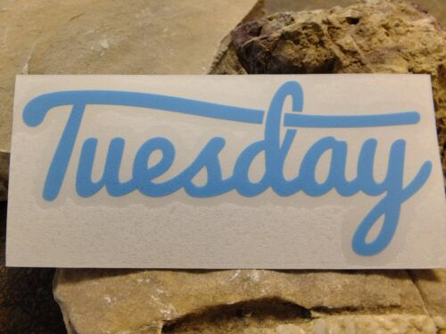 Tuesday bike sticker ride MTB race decal bicycle