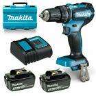 Makita DHP485SFE 18V Cordless Hammer Driver Drill Kit
