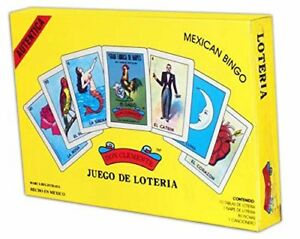 Autentica Loteria Gift Box Set Gallo Don Clemente Juego De Loteria Mexican Bingo