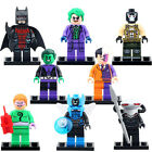8pcs/set-Super-Heroes-Super-Riddler-Beast-Blue-Beetle-Minifigures-Best-Kids-Toys