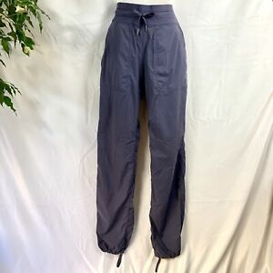 LULULEMON-Women-039-s-Size-6-Purple-Gray-Grey-Slate-Studio-Pant-Unlined-Drawstring