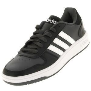 Chaussures skateboard Adidas Hoops 2.0 blk Noir 82399 - Neuf