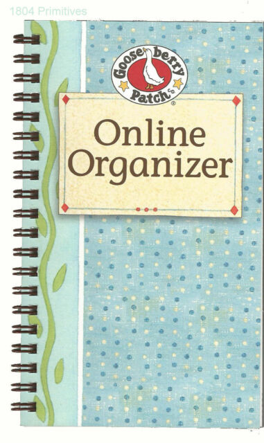 65ddcfb83920 2 Gooseberry Patch Blue Cover Online Organizers