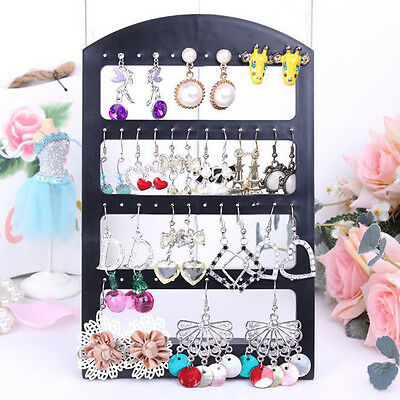 New Promotion 48 Holes Earring Jewelry Accessories Black Display Stand Holder