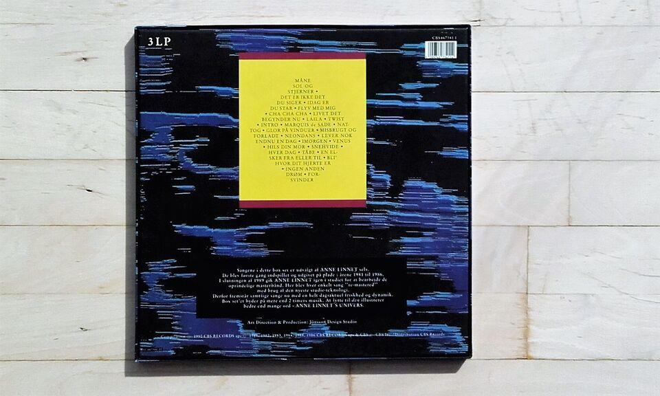LP, Anne Linnet, Univers