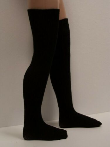 BLACK Stocking Thigh-Hi Doll Socks For 14 Kish Chrysalis Lark Song Piper (Debs)