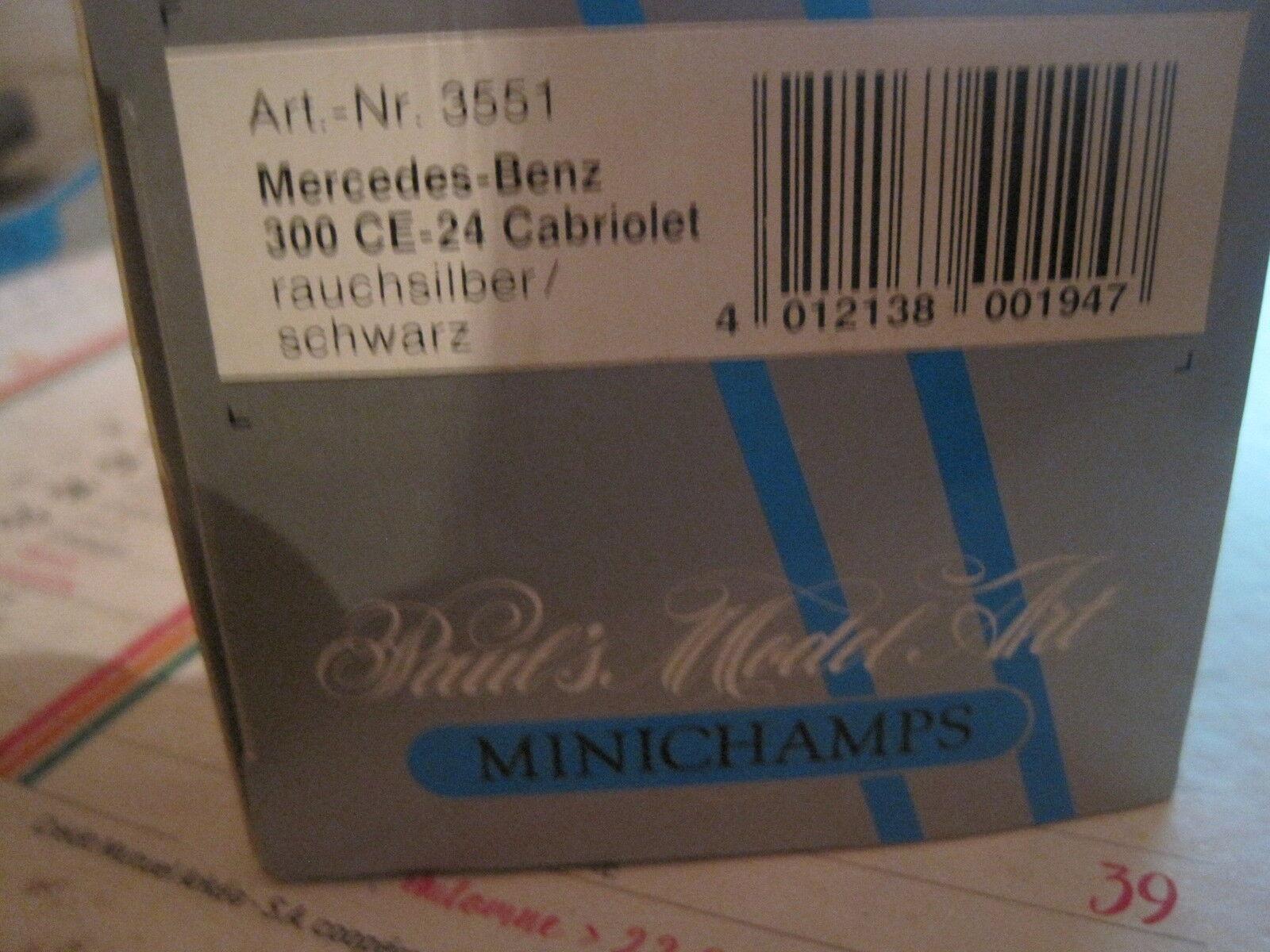 SUPERBE MERCEDES-BENZ 300 CE-24 CABRIOLET NEUF BOITE 1/43 MINICHAMPS MINICHAMPS MINICHAMPS 9ad4c4