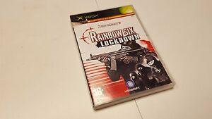 Original-Xbox-Game-TOM-CLANCY-039-S-RAINBOW-SIX-LOCKDOWN-XBOX