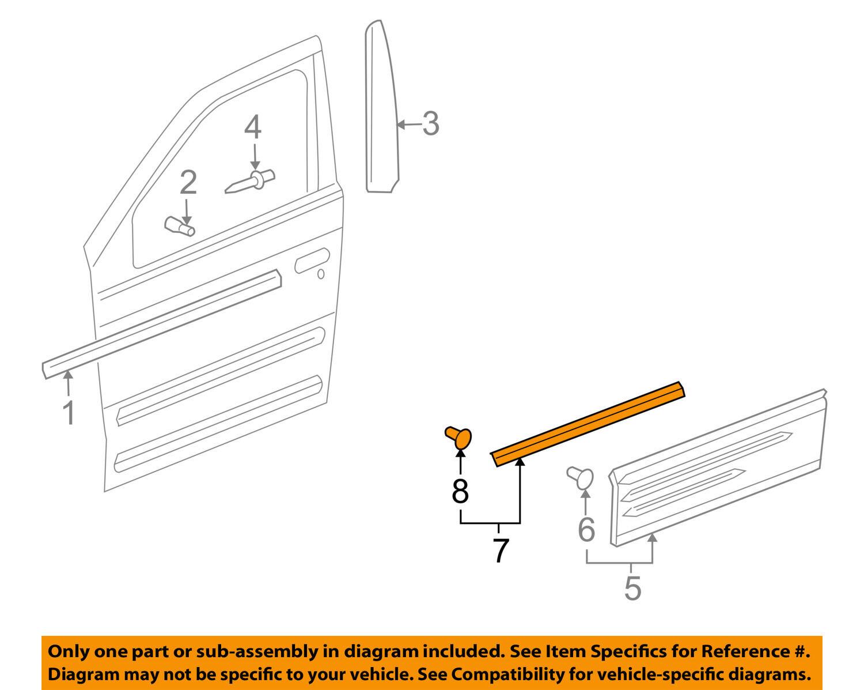 GM OEM Front Door-Lower Retainer 10429494