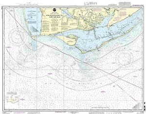NOAA Chart Apalachicola Bay to Cape San Blas 31st Edition 11401