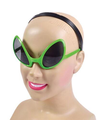 Adult Alien Dark Lens Glasses Unisex Fancy Halloween Party Novelty Accessory