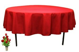 60-034-Inch-Red-Round-Tablecloth-For-Polyester-Fabric-For-Catering-Party