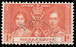 "Scott # 170 - 1937 - ""couronnement Question"", Le Roi George Vi Et La Reine Elizabeth-afficher Le Titre D'origine"