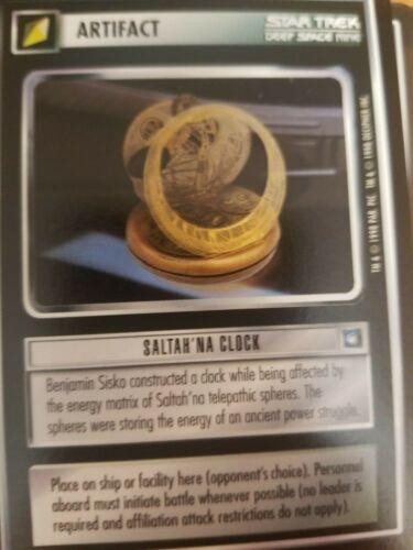 Star Trek CCG Deep Space Nine DS9 Saltah/'Na Clock NrMint-Mint