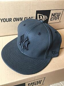 NEW ERA NEW Mens Grey 59Fifty New York Yankees Cap BNWT
