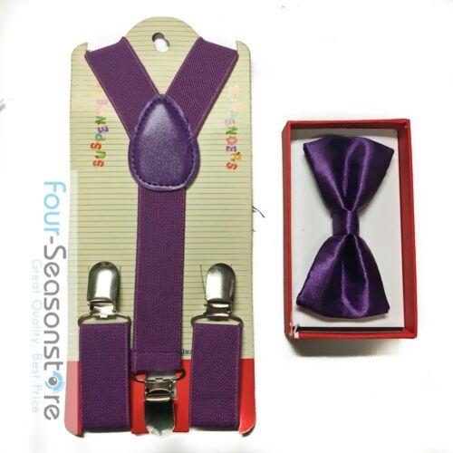 20 Style Of Children Toddler Baby Child Under Age of 6 kid/'s bow tie suspender