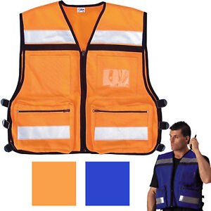 Emergency Rescue Vest High Visibility Safety Hi-Vis Reflective EMS ... f745d9878c9