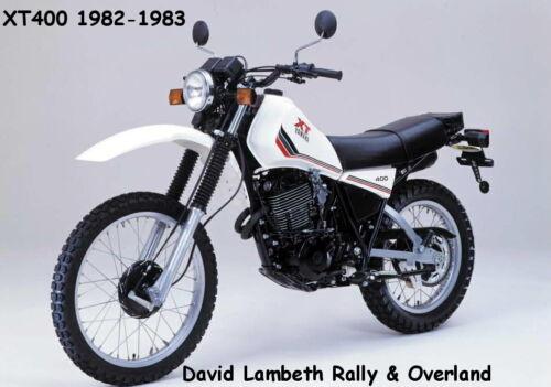 XT 550 XT 400 YAMAHA 1981 1982 1983 5Y1-7 cover de selle coprisella Housse De Siège