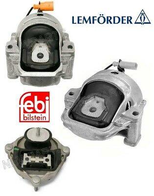 Audi A4 A5 Quattro Manual Trans Mount /& Left and Right Engine Mounts Lemfoerder