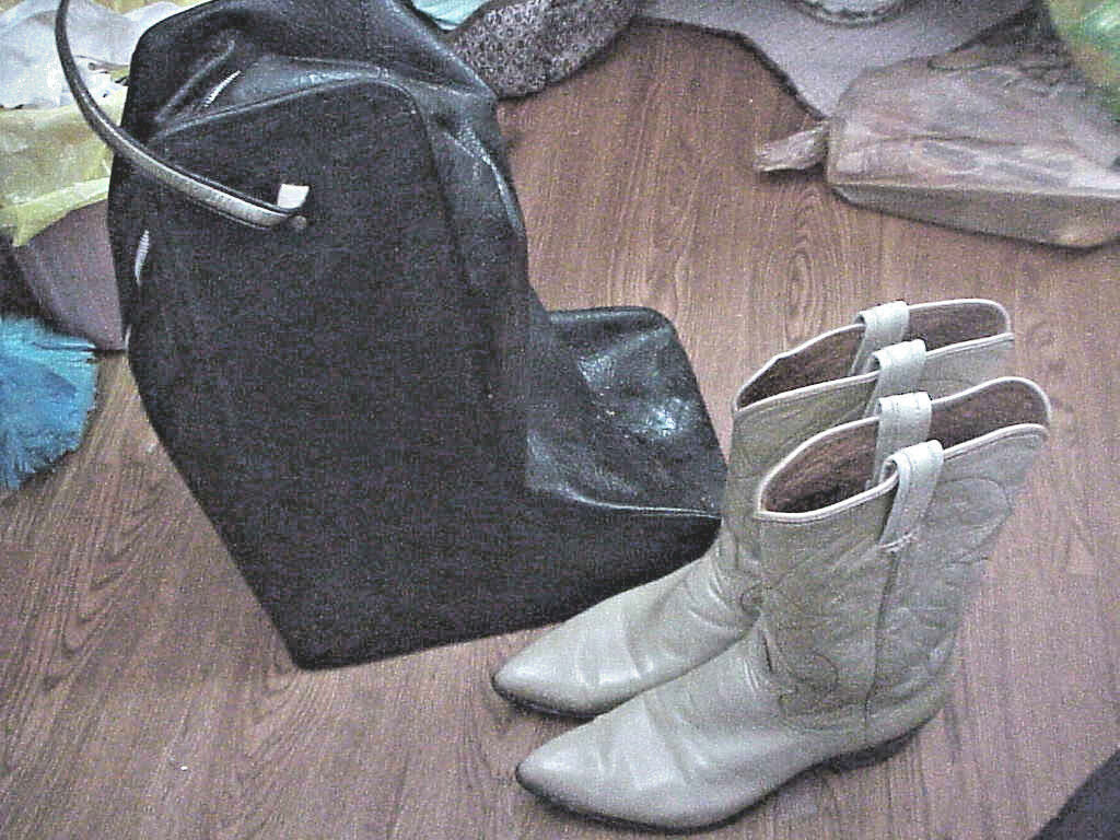 WOMEN'S TONI LAMA WESTERN BOOTS  AND CARRY CASE
