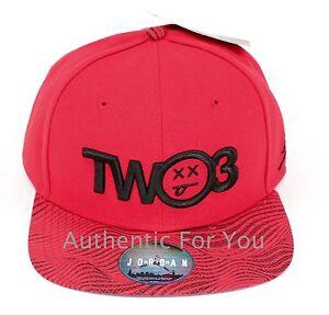 0f142b583f24f6 NEW Nike Air Jordan Retro 12 XII Flu Game 23 RED Snapback Hat 789497 ...