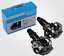 SHIMANO-Mountain-Bike-Pedals-PD-M520-Cr-Mo-Axle-Clipless-Cleats-Pedals-Original thumbnail 1