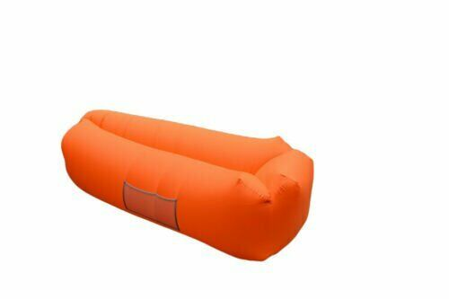 Portable Fast Inflatable Lounge Air Sofa Bed Lazy Couch Beach Camping Waterproof