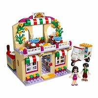 LEGO Friends Heartlake Pizzeria with Pizza Delivery Complete Building Set