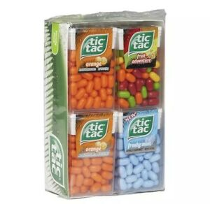 4175399d5e2f Details about Tic Tac Variety Pack Mints Candy Tic Tacs 12 - 1oz Packs Bulk
