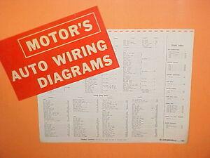1961 1962 1963 1964 1965 oldsmobile 98 super 88 starfire jetfire ... oldsmobile 98 wiring diagrams  ebay