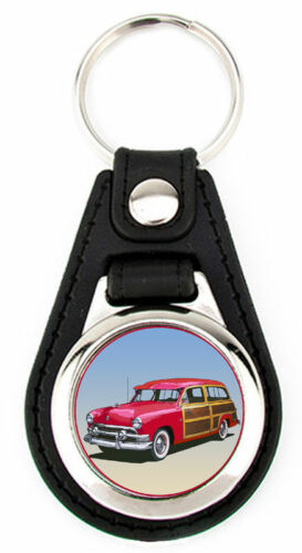 Ford 1951  Woody Station Wagon or Sedan Key Fob