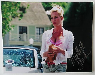 psa/dna Independent Nicollette Sheridan Signed Desperate Housewives 8x10 Photo #s34371 Utmost In Convenience