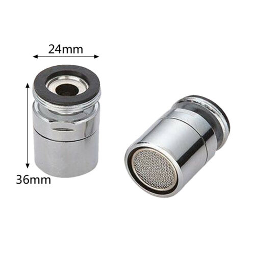 Brass Water Saving Tap Faucet Aerator Sprayer Attachment  with 360-Degree Swivel