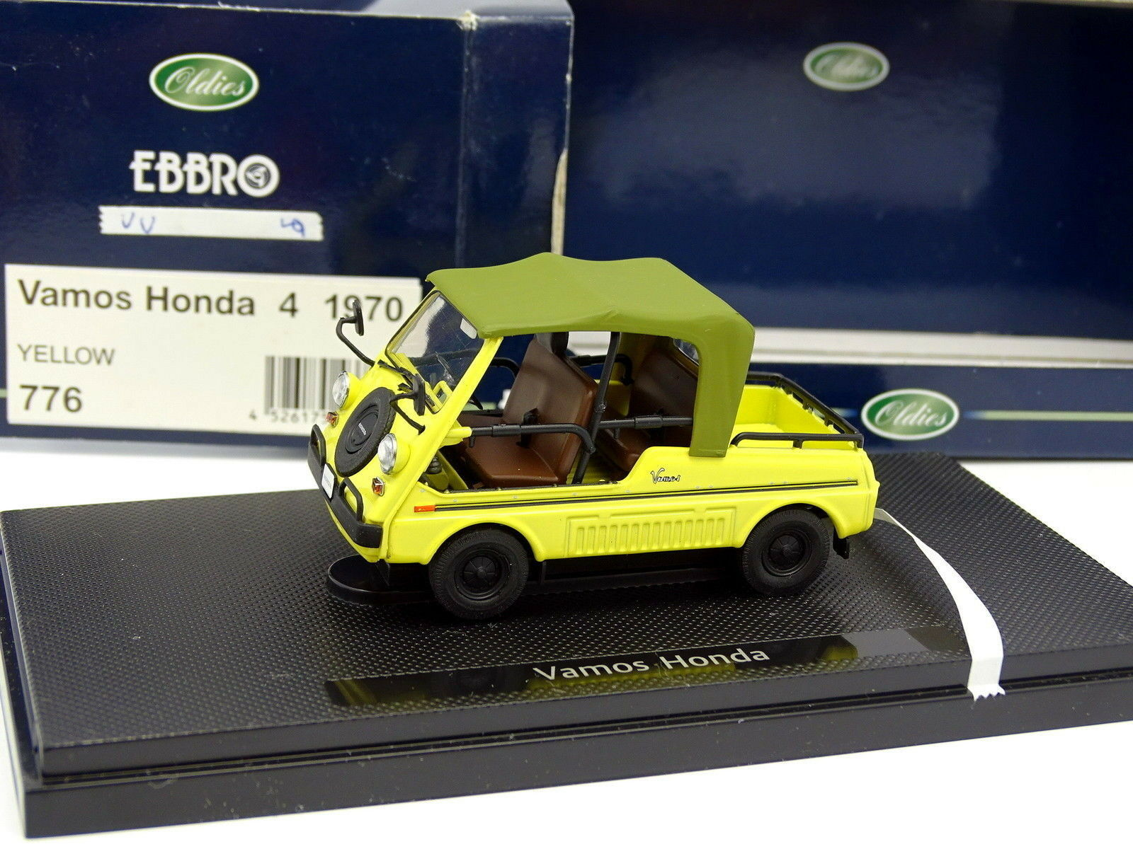 Ebbro 1 43 - Honda Vamos yellow