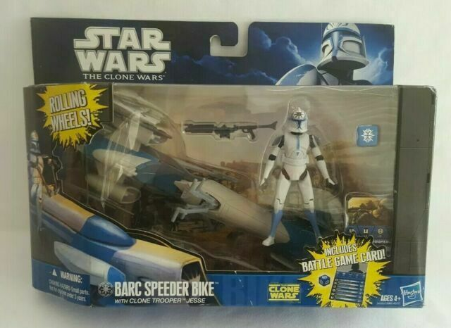 Star Wars Barc Speeder Bike with CLONE TROOPER Jesse Véhicule /& Action Figure