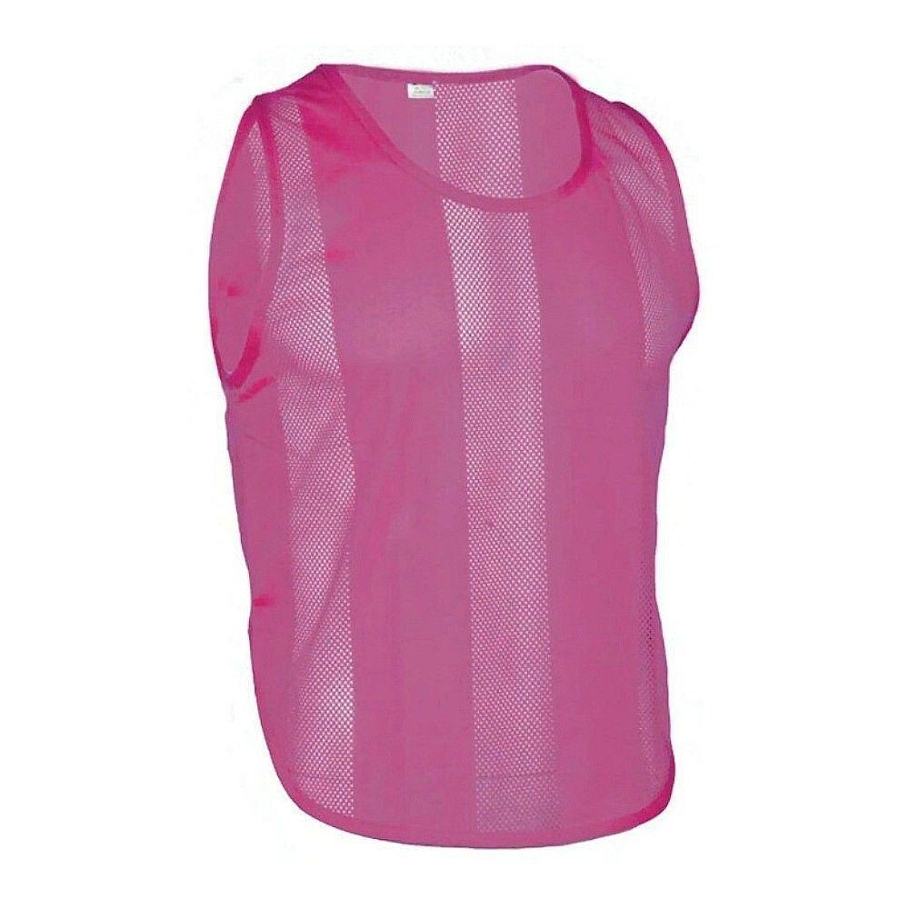 10x Chemise de Marqueur Kennzeichnungsweste Football Camisole pink Senior Junior