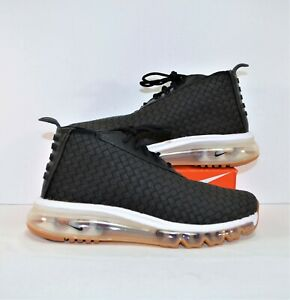 Details about Nike Nikelab Air Max Woven Boot Black & Gum Running Shoes Sz 5.5 NEW 921854 003