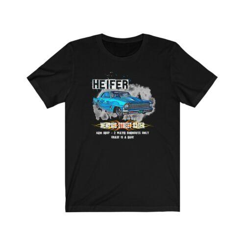 Memphis Outlaws t shirt. Heifer Tricia and JJ Da Boss Street racing t shirt