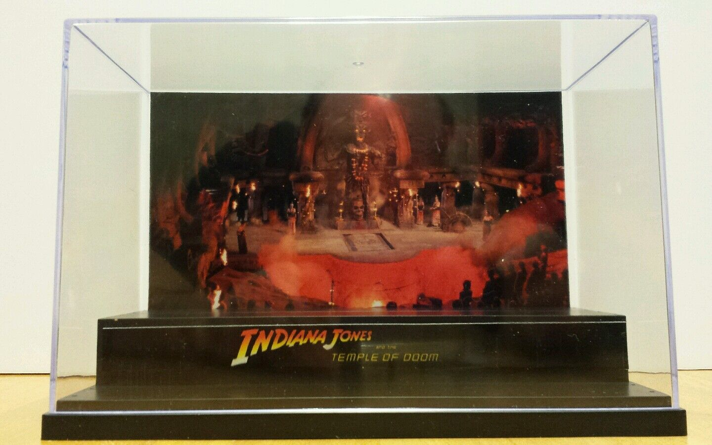 Indiana Jones Temple of DOOM display Stand Style Diorama action figure-case only