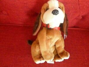 TY BEANIE BABY HOLMES the Dog BBOM Feb 2003   Plush stuffed toy