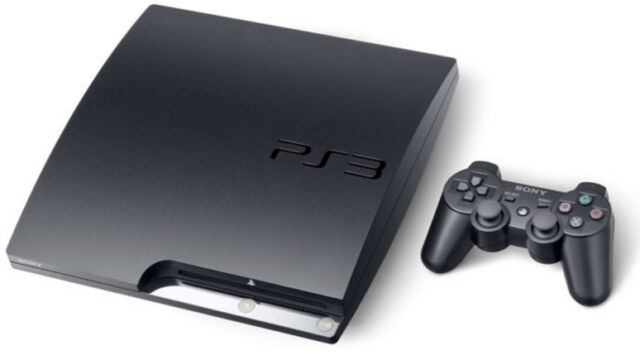 Sony Playstation 3 Slim 160gb Charcoal Black Home Console Ps3 S160g Rb For Sale Online Ebay