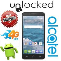 Unlocked Alcatel Onetouch Flint 5054o Cricket 4g Lte Gsm 5.5 Hd Android 5.1