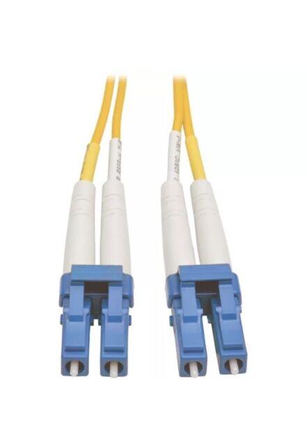 Tripp Lite 5M Duplex Singlemode 8.3/125 Fiber Optic Patch Cable LC/LC 16ft, 5m